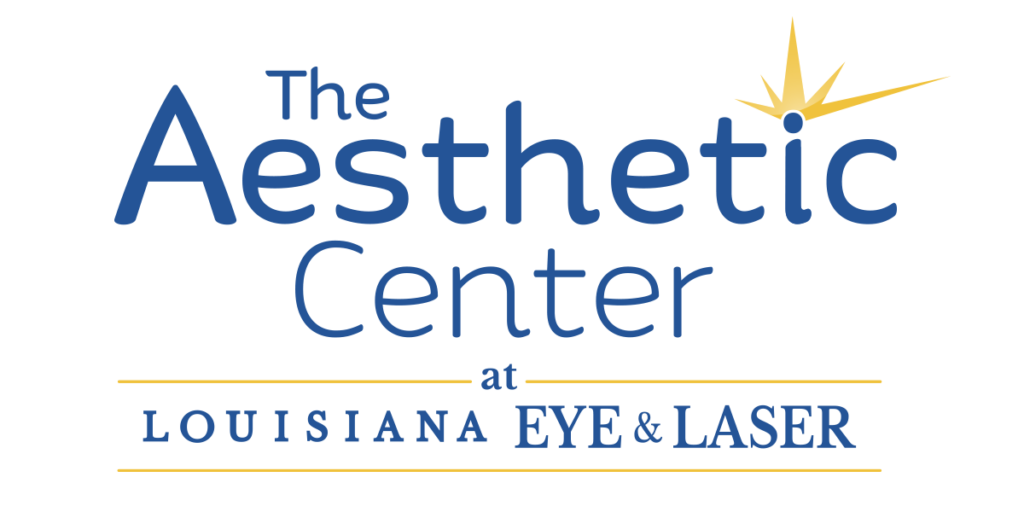 The Aesthetic Center at la eye logo