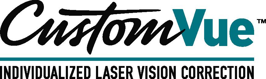 customvue laser vision correction logo