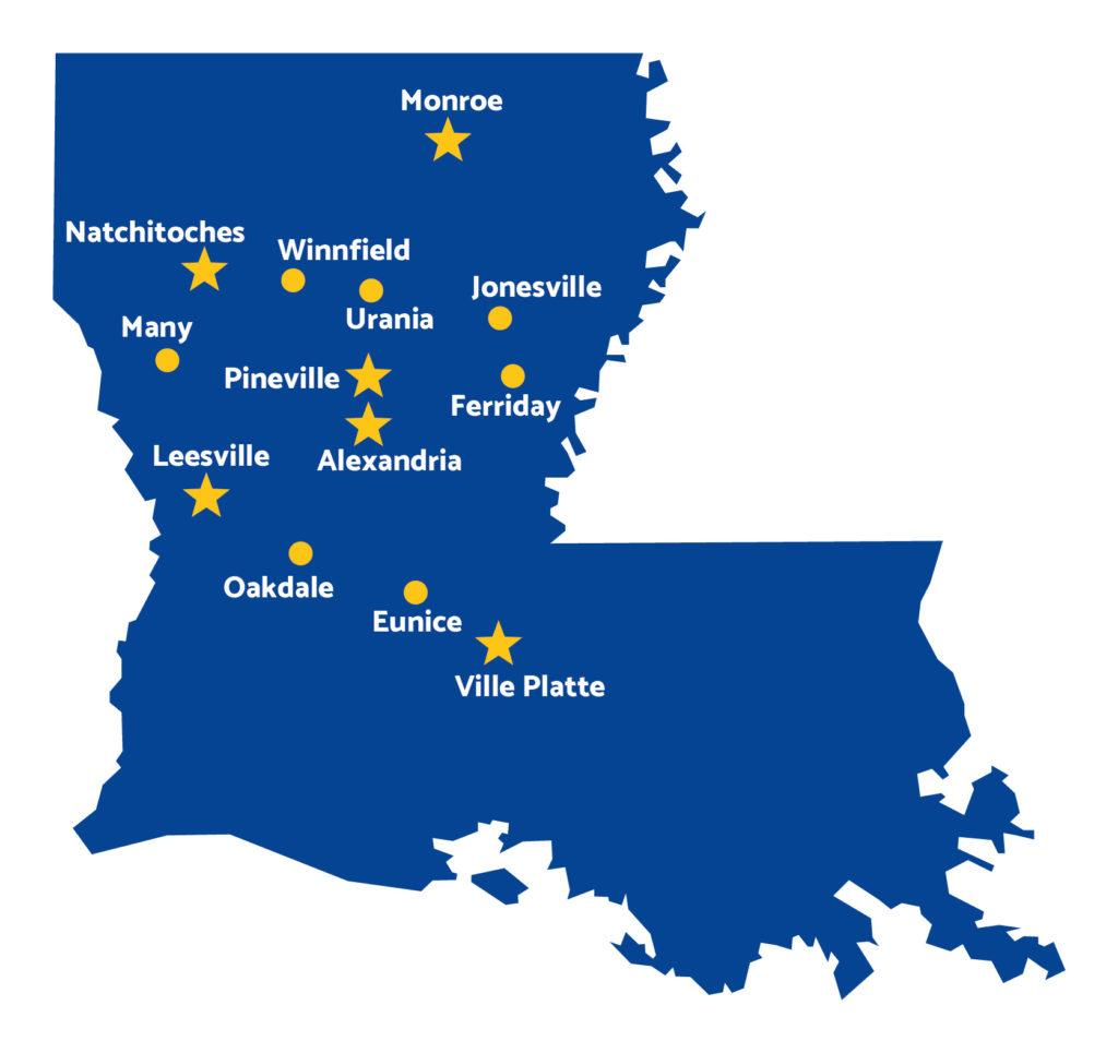 Louisiana Eye & Laser Center Locations Across Louisiana