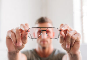 New Prescription Lenses In same glasses frame